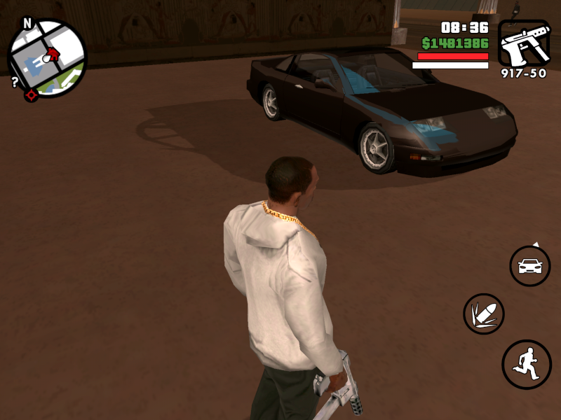 Где припаркован Euros в GTA San Andreas?