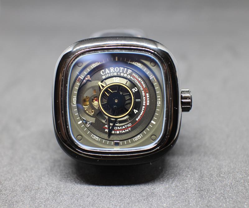 Стоит ли купить механические часы на AliExpress. Часть 2. Мужские механические часы Carotif (NO.F-1003). Обзор и отзыв.
