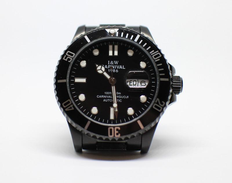 Часть 3. Выбираем дайверские часы. Обзор механических часов I&W Carnival NO: 8756G