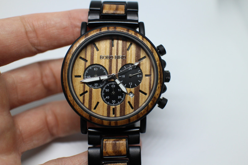 Обзор деревянных кварцевых часов от компании Bobo Bird P09-1