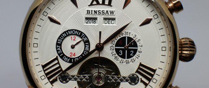 Часть 5. Выбираем мужские часы в классическом стиле. Обзор Binssaw с турбийоном.