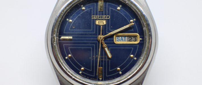 Японские механические часы на каждый день. Обзор Seiko 5 7S26-8760 F
