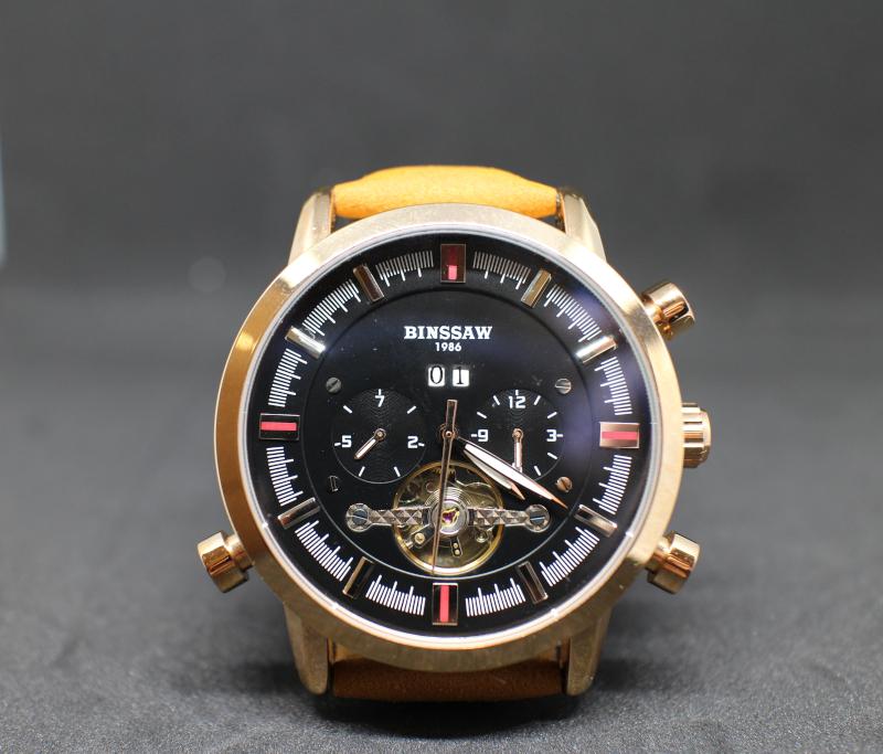 Можно ли купить качественные мужские механические часы на AliExpress. Обзор часов Binssaw.