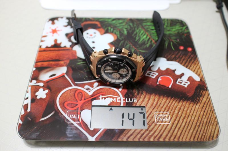 Вес часов Didun Design.