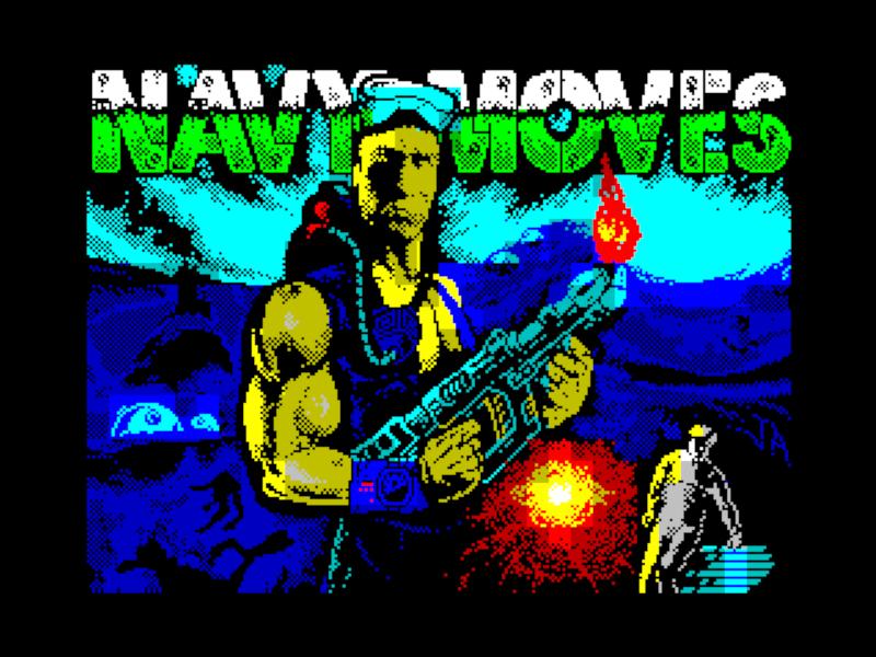 Назад в прошлое. Вспоминаем одну из ярких игр для ZX Spectrum. Navy Moves