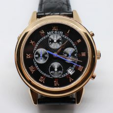 Унесённые ветром или как разобрать кварцевые часы Megir ML2013G, чтобы заменить батарейку?