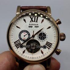 Выбираем мужские часы в классическом стиле. Обзор часов из Китая Binssaw с турбийоном.