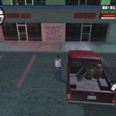 Как собрать все граффити для GTA San Andreas (34-67)