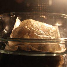 Рецепт жареной картошки со свиной рулькой.