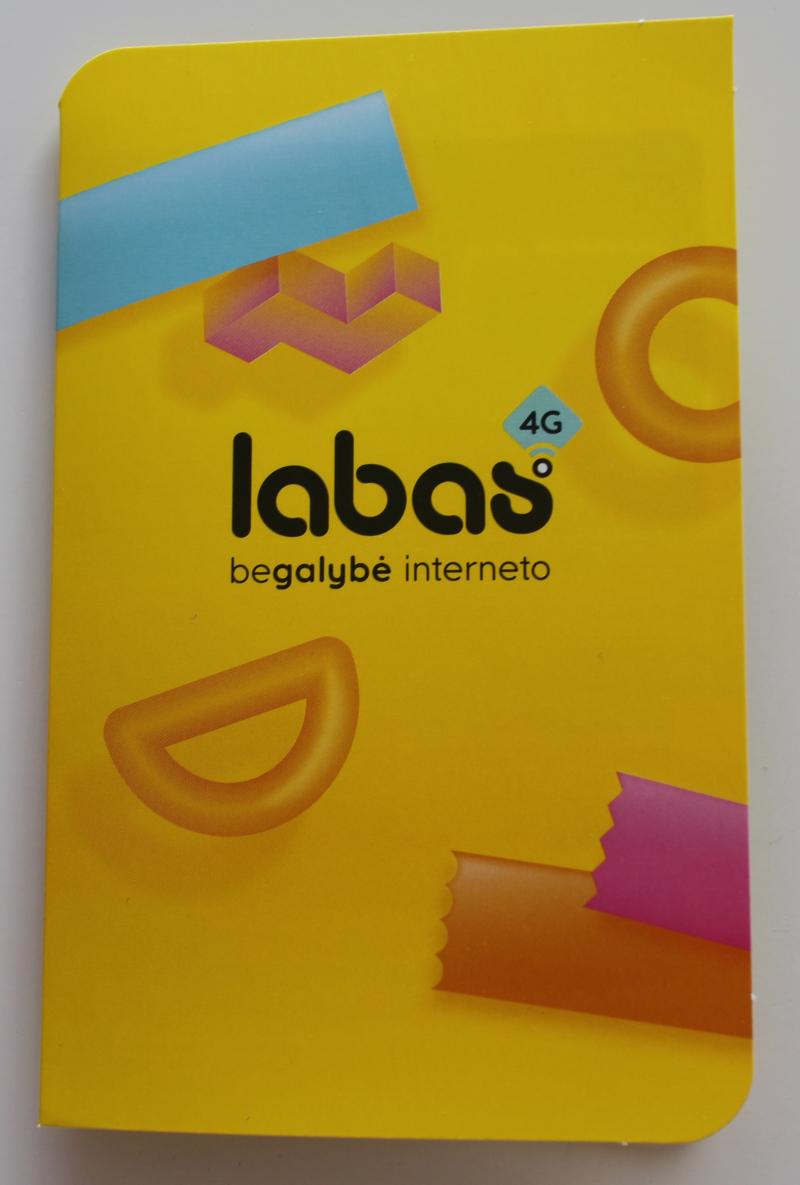 Брошюра пакета связи Labas