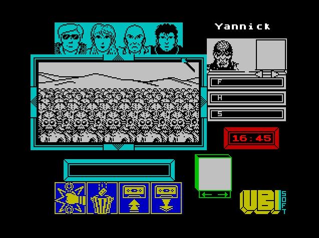 Толпа зомби в игре Zombi
