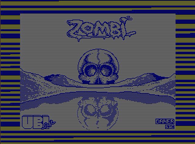 Заставка игры Zombi