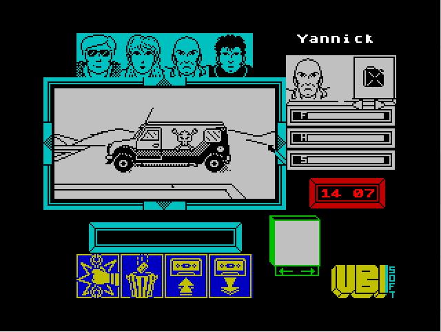 Микроавтобус панков в игре Zombi