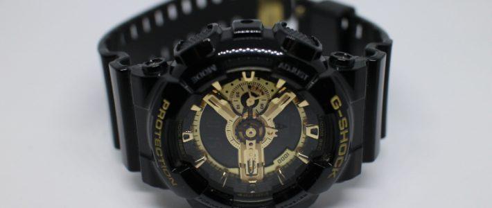 Последний самурай в коллекции или обзор защищённых часов Casio G-Shock GA-110GB.