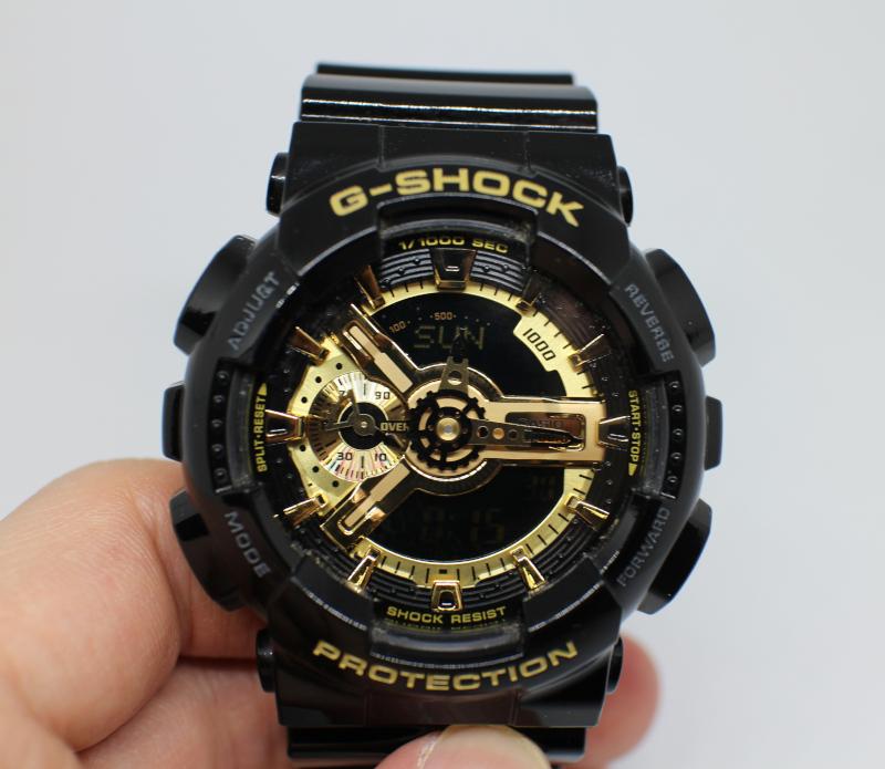 Циферблат часов Casio G-Shock GA-110GB.