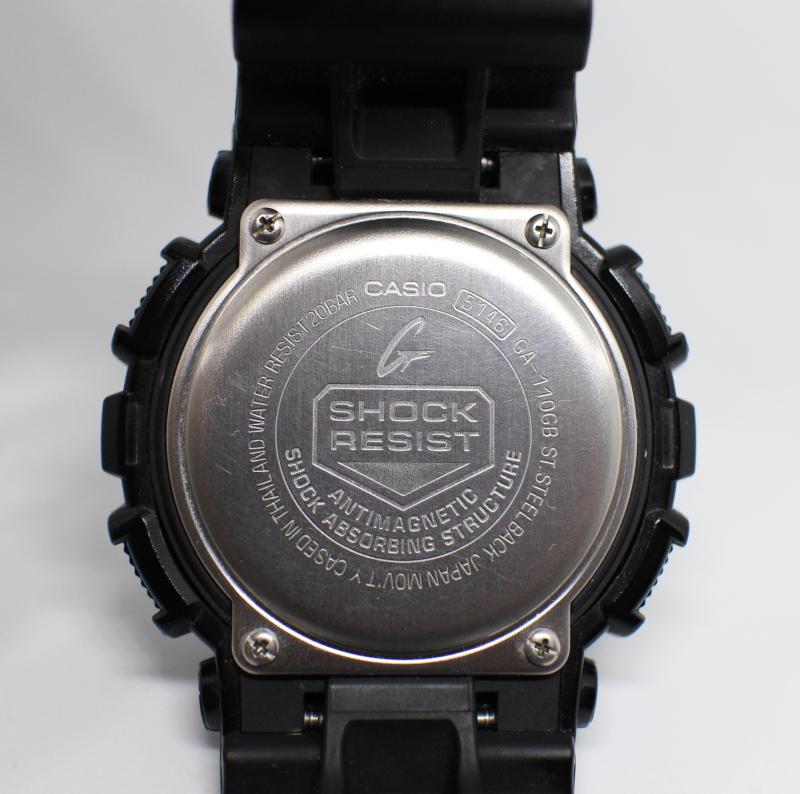 Задняя крышка часов Casio G-Shock GA-110GB.