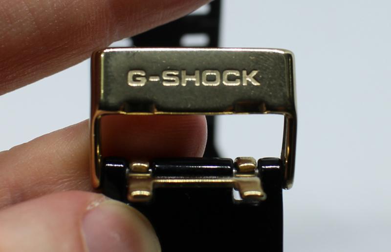 Язычок ремешка часов Casio G-Shock GA-110GB.