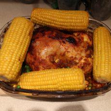 Готовим простой и сытный ужин для всей семьи. Рецепт острой курицы с овощами