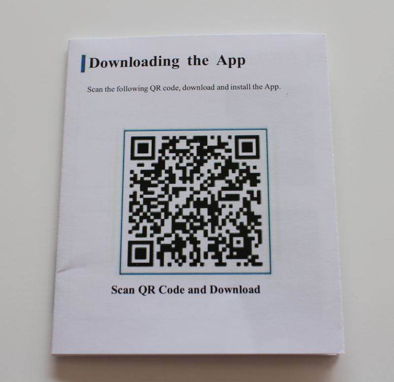 QR код для приложения Android / iOS к часам Binssaw BS-SW-001.