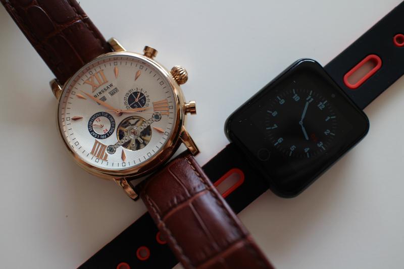 Механические и смарт часы от компании Binssaw