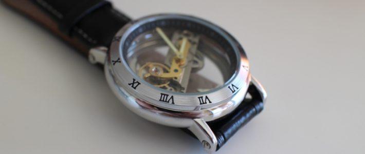Часы, которые никого не оставят равнодушным. Обзор механических часов Forsining 3571.