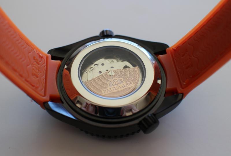 Задняя крышка часов Paulareis Co-Axial ZrO2