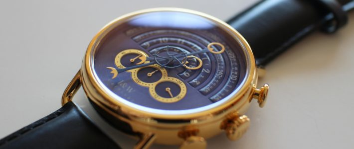 Blue magic или принцип симметрии в действии. Обзор часов I&W Carnival 8816G