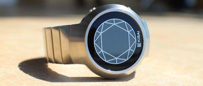 Чёрный бриллиант коллекции или обзор полигональных часов Kisai Polygon LCD Watch.