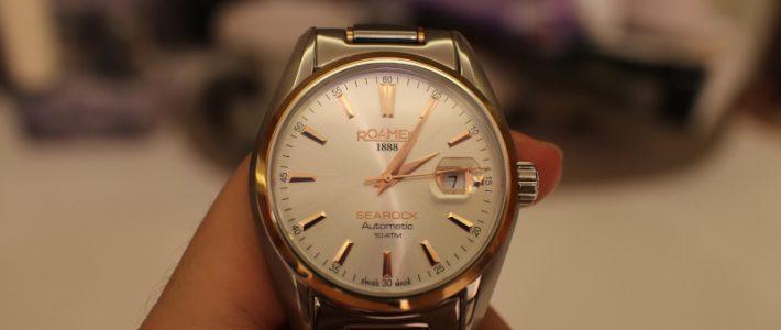 Морская скала за 50000 рублей или самые дорогие часы за историю канала. Обзор швейцарских механических наручных часов Roamer Searock.