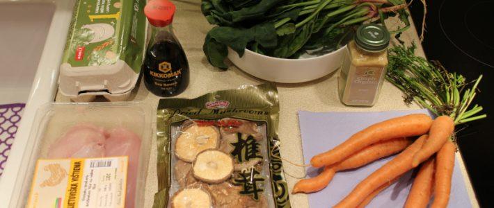 Горячий привет из Сан-Франциско или рецепт супа из грибов шиитаке
