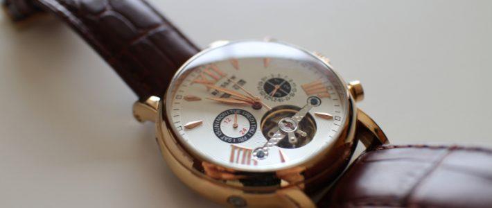 Лучшие за свои деньги. Обзор мужских наручных механических часов Binssaw BS-CMM024A с открытым балансом.