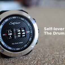 ДИЧЬ: Видеообзор барабанных часов (The Drum Watch) от бренда Self-Lover