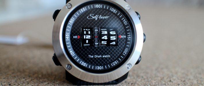 ДИЧЬ: Шуршащий дьявол или обзор барабанных часов Self-Lover 1486. The Drum Watch.