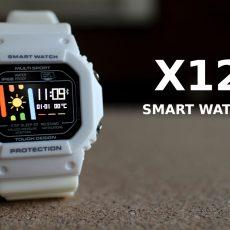 Что будет, если смешать Xiaomi Mi Band и Casio G-Shock? Обзор новых смарт-часов X12.