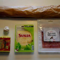 Холестериновая бомба или рецепт вкусного сытного бутерброда выходного дня