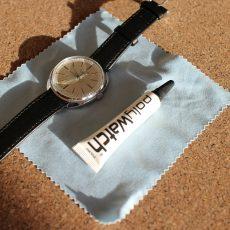 Мохнатые руки | Удаление царапин на часах или полировка стекол часов без лишнего инструмента с помощью PolyWatch