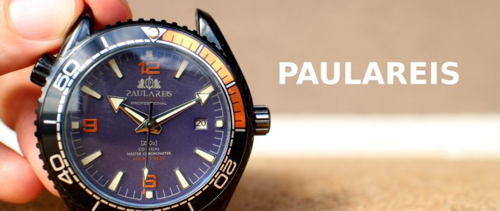 Survive or not? Homage of Omega Seamaster Planet Ocean. Paulareis Co-Axial ZrO2 watch review